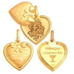 Medalik złoty 585 - Mv109
