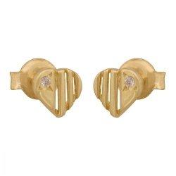 Kolczyki złote 585 sztyft - 20328