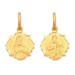 Medalik złoty 585 - 22537