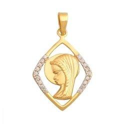 Medalik złoty 585 - 28737