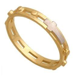 Różaniec złoty 585 - Pr002