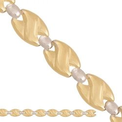 Naszyjnik złoty ozdobny 585 - 31293