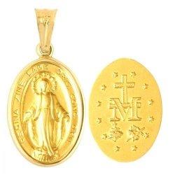 Medalik złoty 585 - 31443