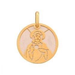 Medalik złoty 585 - 35131