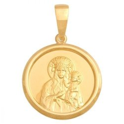 Medalik złoty 585 - 37161