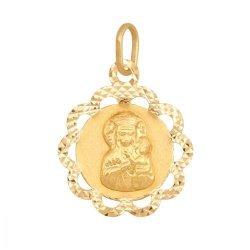 Medalik złoty 585 - Me412