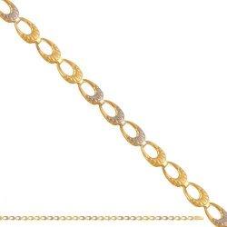 Bransoletka złota, damska 585 - 37485