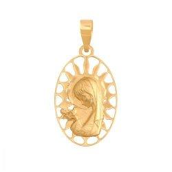 Medalik złoty 585 - 37591