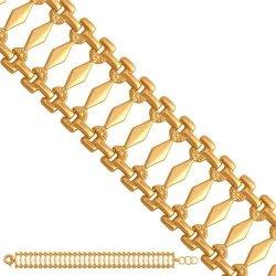 Bransoletka złota, damska 585 - 38164