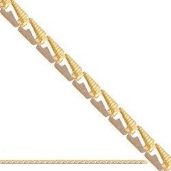 Bransoletka złota, damska 585 - 38554