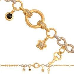 Bransoletka złota, damska 585 - 39470