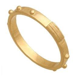 Różaniec złoty 585 - Pr003