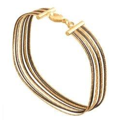 Bransoletka złota, damska 585 - 40858