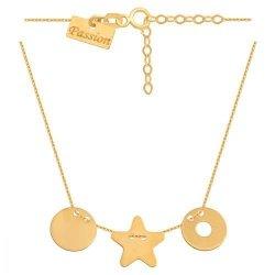 Celebrytka, naszyjnik, łańcuszek ze złota 585 - 41115