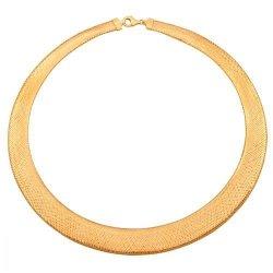 Naszyjnik złoty ozdobny 585 - 41807