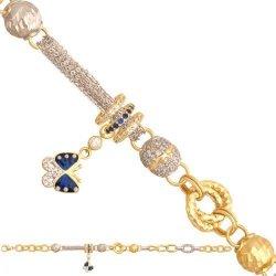 Bransoletka złota, damska 585 - 48522