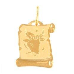 Zawieszka złota 585 znak zodiaku Byk - Zobyk