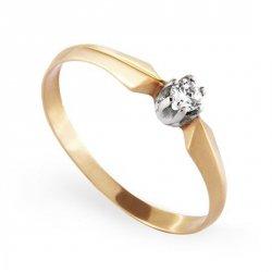 ARTES-Pierścionek złoty zaręczynowy A-46/375