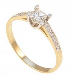 Pierścionek złoty 585 zaręczynowy 24H PROMOCJA! 570