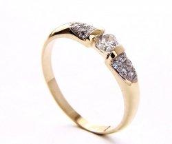 ARTES-Pierścionek złoty 420 PR. 585