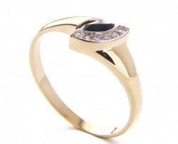 ARTES-Pierścionek złoty 459 PR. 585