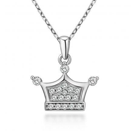 Zawieszka wisiorek srebrny 925 Korona