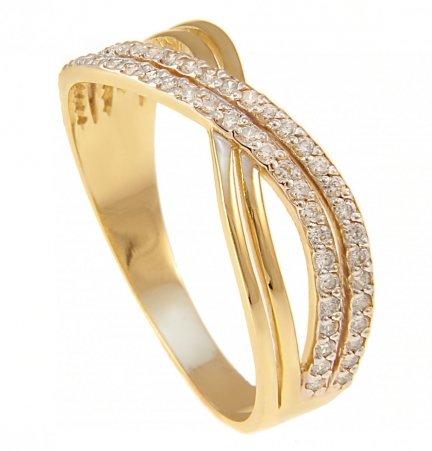 ARTES- Pierścionek złoty obrączka 24H PROMOCJA! 687/585