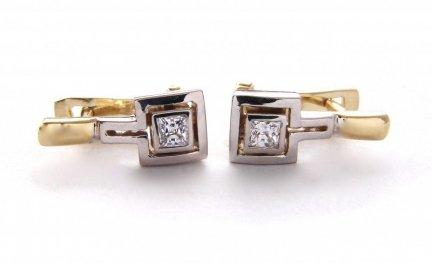 ARTES-Kolczyki złote 407 PR. 585