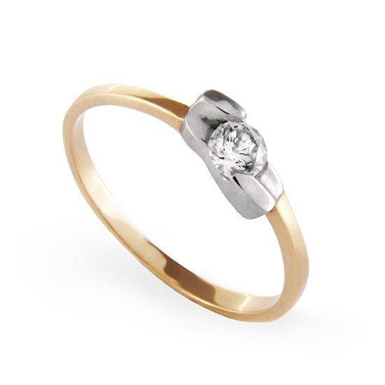 ARTES-Pierścionek złoty A-30 PR. 585