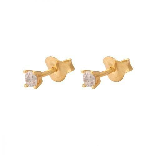 Kolczyki złote 585 sztyft - 28723