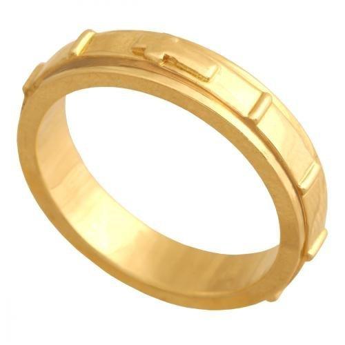 Różaniec złoty 585 - Pr004