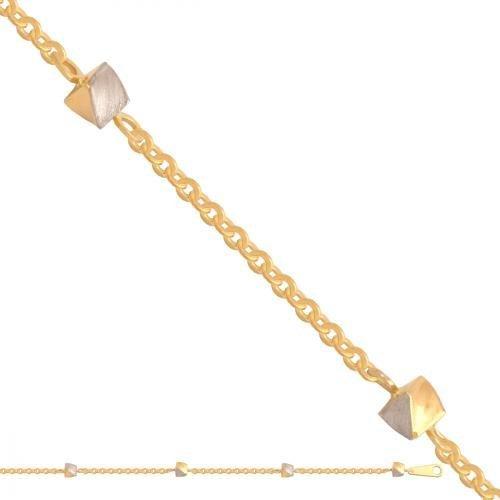 Bransoletka złota, damska 585 - 29387