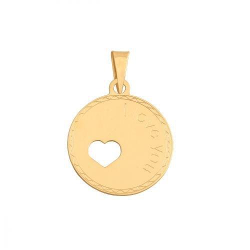 Zawieszka złota 585 serce, serduszko -  35444