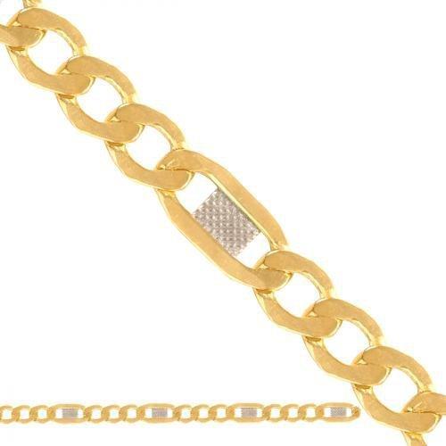 Łańcuszek złoty 585 - Ld038