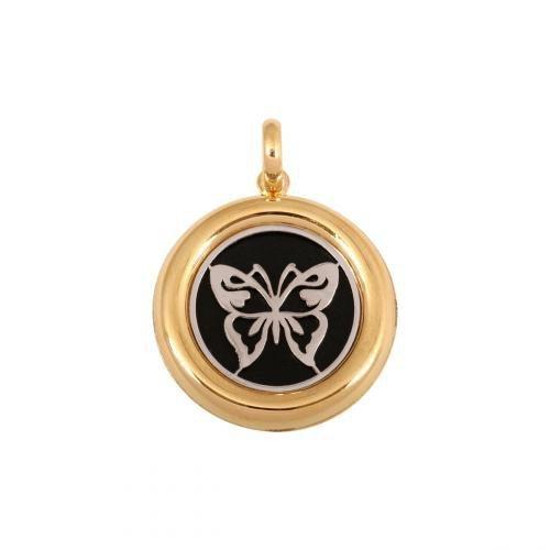 Zawieszka złota 585 - motylek- 44890