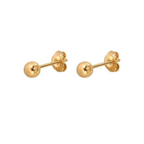 Kolczyki złote 585 sztyft - 46435
