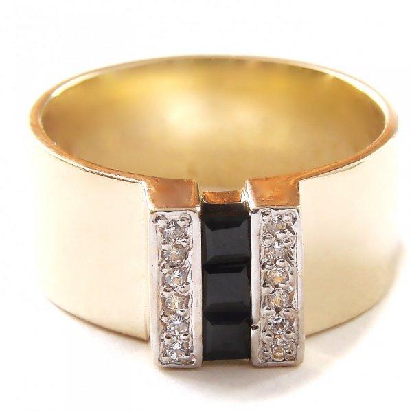 ARTES-Pierścionek złoty 530 PR. 585