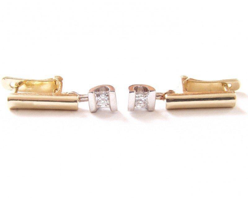 ARTES-Kolczyki złote 529 PR. 585