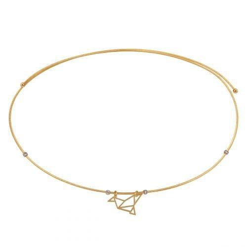 Naszyjnik złoty Omega 585 - 45213