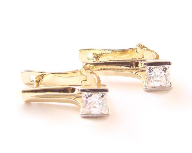 ARTES-Kolczyki złote 553 PR. 585