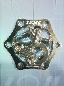 Adapter BOOST tył 3 mm