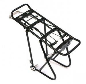 Bagażnik KW-622-02 czarny aluminiowy regulowany