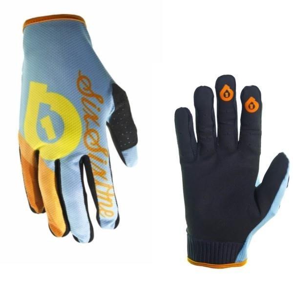 661 Rękawice COMP SHERBET niebieskie