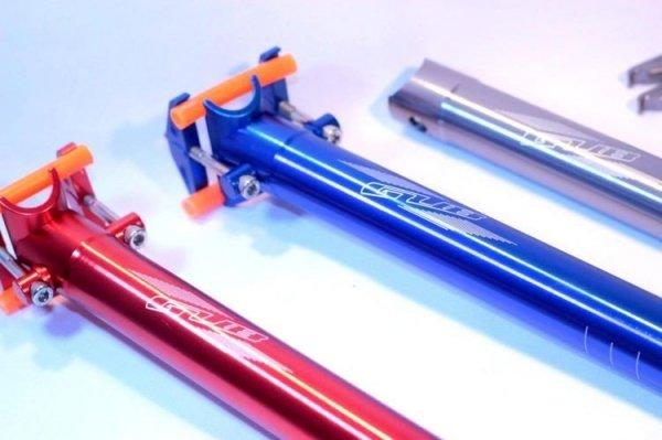 GUBbike-Wspornik siodła ULTRALIGHT-27,2mm 4 kolory (2013)