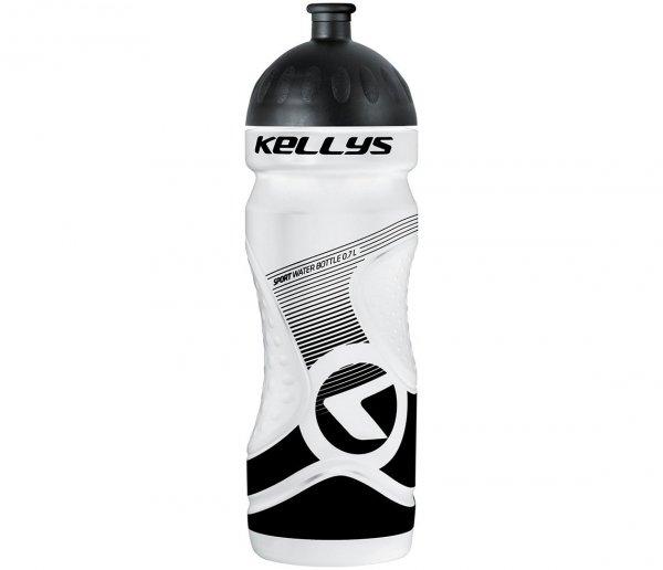 Bidon KELLYS SPORT 0,7 l, White