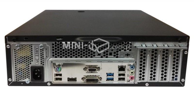 Komputer µForce Biuro / Intel Pentium / 4GB RAM / 120GB SSD / Mini-ITX