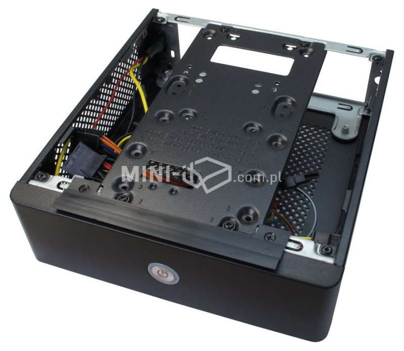 Obudowa Inter-Tech ITX-603 60W Slim DVD Mini-ITX