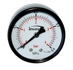 Manometr techniczny 4 bar axialny 100 mm 1/4