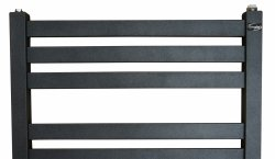 Gorgiel Ebro 535x950 grzejnik łazienkowy grafit