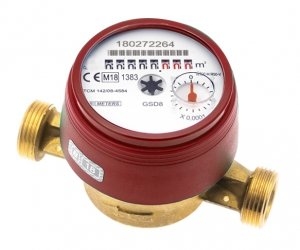 Bmeters GSD8 Wodomierz licznik ciepłej wody 3/4 JS 4,0